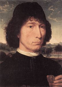 Hans Memling - Portrait of a Man with a Roman Coin