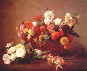 Henri Fantin Latour - these are the flowers of middle summer