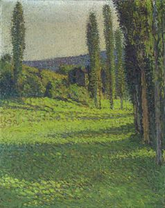 Henri Jean Guillaume Martin - By the Fields