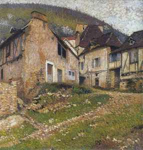 Henri Jean Guillaume Martin - Houses in the Village