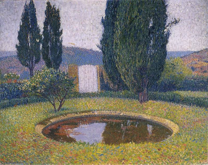 Le Bassin de Marquayrol by Henri Jean Guillaume Martin (1860-1860, France)