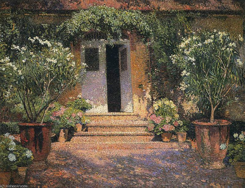 Port Entree a Marquayrol by Henri Jean Guillaume Martin (1860-1860, France) | Oil Painting | WahooArt.com