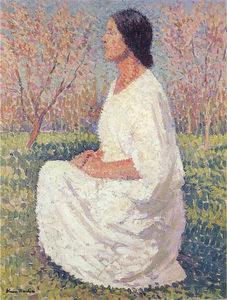 Henri Jean Guillaume Martin - the muse