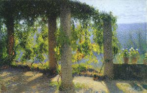Henri Jean Guillaume Martin - the small pergola