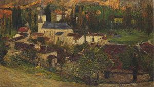 Henri Jean Guillaume Martin - The Village Among the Trees