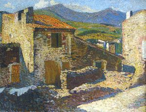 Henri Jean Guillaume Martin - Village in the Sun