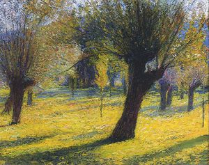 Henri Jean Guillaume Martin - Willows in the Vert