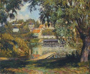 Henri Lebasque - By the River