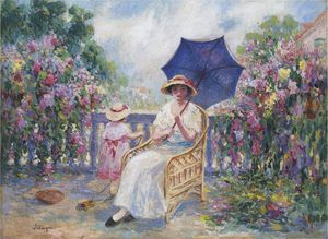 Henri Lebasque - On the Terrace