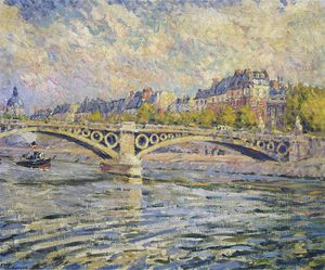 Henri Lebasque - The Seine at Paris