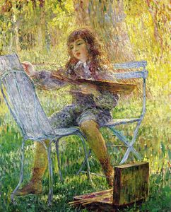 Henri Lebasque - young painter