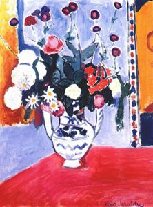 Henri Matisse - bouquet (two-handled vase) -