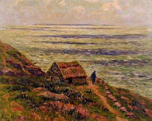 Henri Moret - Cliffs of Jaboure