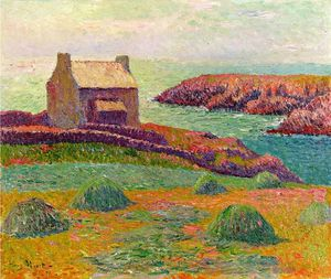 Henri Moret - House on a Hill