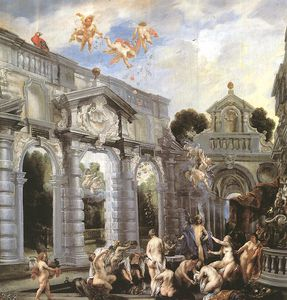 Jacob Jordaens - Nymphs at the Fountain of Love