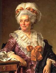 Jacques Louis David - Portrait of Genevieve Jacqueline Pecoul