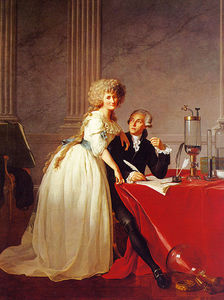 Jacques Louis David - Portrait of Monsieur Lavoisier and His Wife