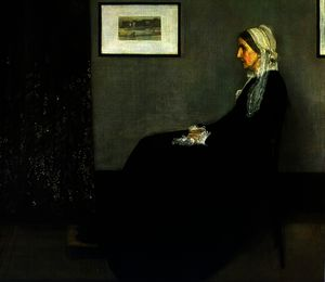James Abbott Mcneill Whistler - Arrangement in Grey and Black