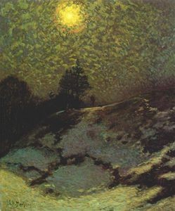 James Edward Hervey Macdonald - early evening, winter