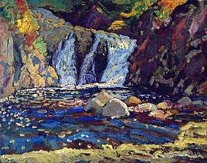 James Edward Hervey Macdonald - the little falls