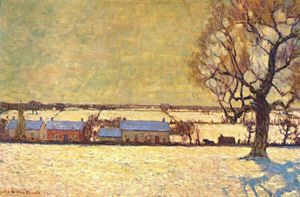 James Edward Hervey Macdonald - winter sunshine