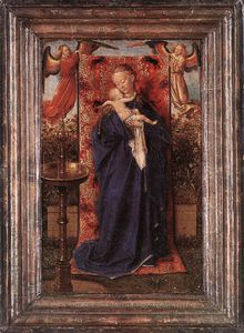 Jan Van Eyck - Madonna and Child at the Fountain