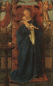 Jan Van Eyck - Madonna by the Fountain