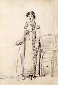 Jean Auguste Dominique Ingres - Lady William Henry Cavendish Bentinck born Lady Mary Acheson