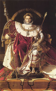 Jean Auguste Dominique Ingres - Napoleon I on His Imperial Throne