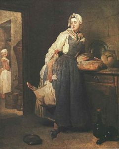 Jean-Baptiste Simeon Chardin - Return from the Market