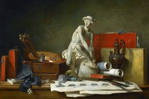 Jean-Baptiste Simeon Chardin - The Attributes of the Arts and the Rewards Which Are Accorded Them