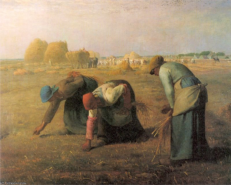 untitled by Jean-François Millet (1814-1875, France) | Famous Paintings Reproductions | WahooArt.com