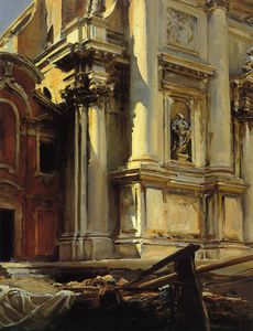 John Singer Sargent - Corner of the Church of St. Stae Venice