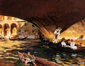 John Singer Sargent - The Rialto (Grand Canal)