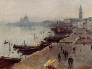 John Singer Sargent - Venice in Gray Weather
