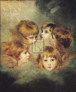 Joshua Reynolds - Childs portrait in different views