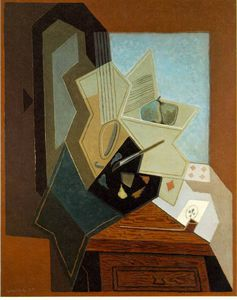 Juan Gris - The painters window - -