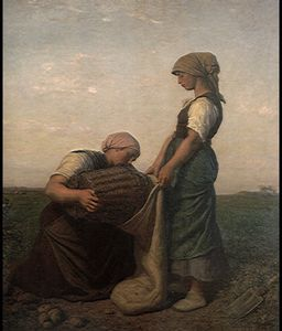 Jules Adolphe Aimé Louis Breton - the potato harvest