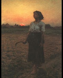 Jules Adolphe Aimé Louis Breton - The Song of the Lark