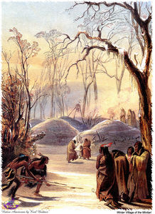 Karl Bodmer - sharper native americans (18)
