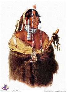 Karl Bodmer - sharper native americans (20)