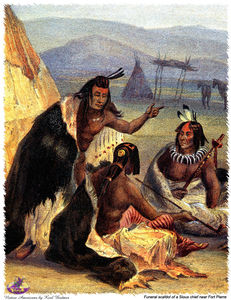 Karl Bodmer - sharper native americans (31)