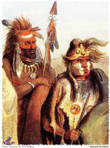 Karl Bodmer - sharper native americans (32)