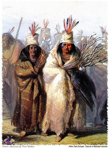 Karl Bodmer - sharper native americans