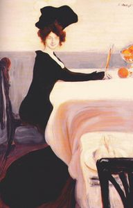Leon Bakst - supper