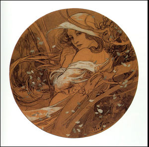 Order Famous Paintings Reproductions : (79) by Alfons Maria Mucha (1860-1939, Czech Republic) | WahooArt.com