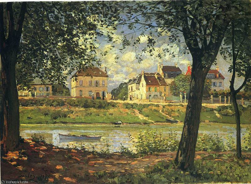 untitled (7011) by Alfred Sisley (1839-1899, France)