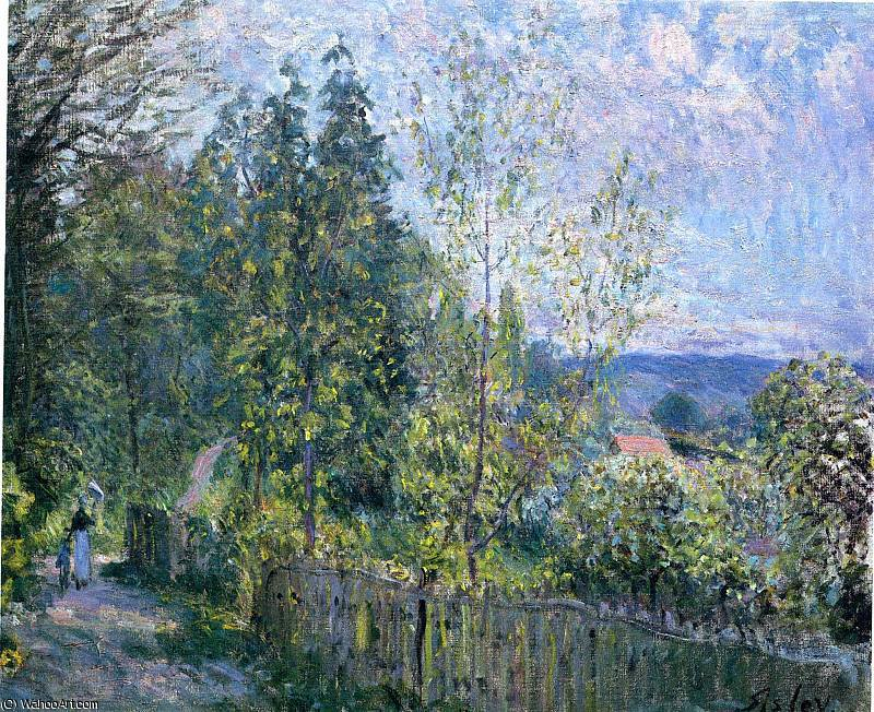 untitled (529) by Alfred Sisley (1839-1899, France)