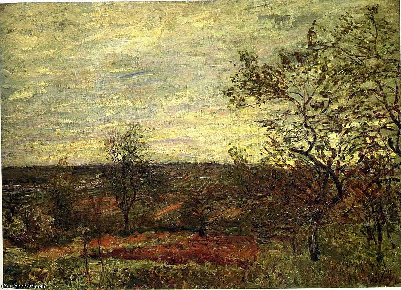 untitled (500) by Alfred Sisley (1839-1899, France)