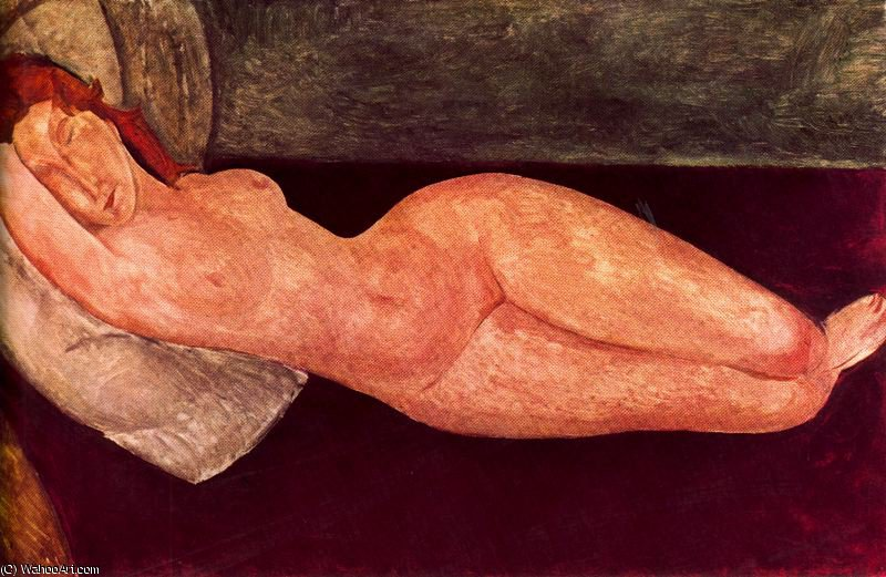 untitled (1697) by Amedeo Modigliani (1884-1920, Italy)
